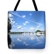 Riverside Marina Tote Bag