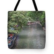 Riverwalk San Antonio Tote Bag