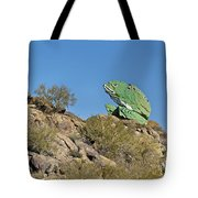 Road Frog Tote Bag