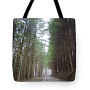 Road In The Forest Tote Bag