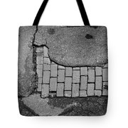 Road Textures Tote Bag