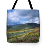 Road Through A Mountain Range, County Tote Bag