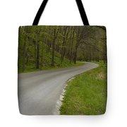 Road Thru Woods Spring 1 Tote Bag