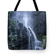 Road To Hana Waterfall Tote Bag