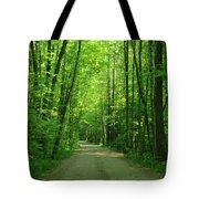 Road To Jasper Woods Tote Bag