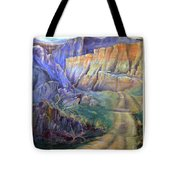 Road To Rainbow Gulch Tote Bag
