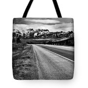Road To Rocks  Tote Bag