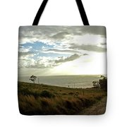Road To The Ocean Tote Bag