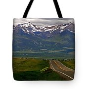 Road To The Sangre De Cristos Tote Bag