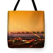 Road Traffic Tote Bag