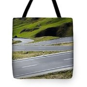 Road With Curves Tote Bag by Mats Silvan