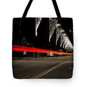 Road With Lights Tote Bag