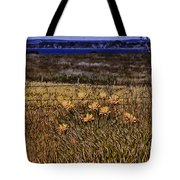 Roadside Flowers Tote Bag