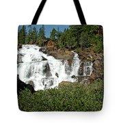 Roaring Falls Glen Alpine Falls Tote Bag