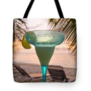 Roatans West Bay, Tropical Drink Tote Bag