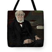 Robert Bunsen, German Chemist Tote Bag
