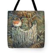 Robin Christmas Card Tote Bag