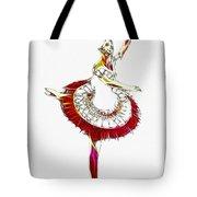 Robot Ballerina Tote Bag
