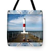 Rochester New York Harbor Lighthouse Tote Bag