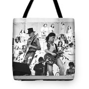 Rock And Roll At Day On The Green 1975 Tote Bag