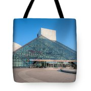Rock And Roll Hall Of Fame II Tote Bag