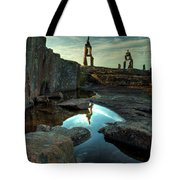 Rock Balancing Grand Marais Tote Bag