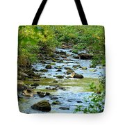 Rock Creek Bed Tote Bag