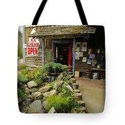 Rock Creeks Trading Post Tote Bag