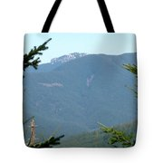 Rock Formation On The Ridge Tote Bag