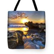 Rock Garden Tote Bag by Debra and Dave Vanderlaan