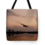 Rock Hall Heron Tote Bag