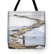 Rock Lake Crossing Tote Bag