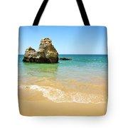 Rock On Beach Tote Bag by Carlos Caetano