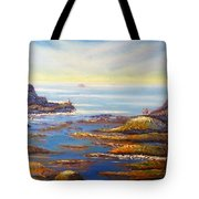 Rock Pools At North Beach Wollongong Tote Bag