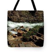 Rock Rush Glen Alpine Creek Tote Bag