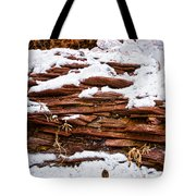 Rock Sandwich With Snow Icing Tote Bag