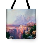 Rock Towers Of The Rio Virgin Tote Bag