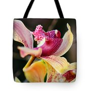 Rocking Chair Orchid Tote Bag