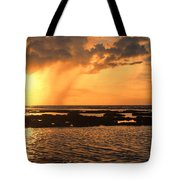 Rockpool Sunset Tote Bag
