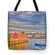Rockport Water Color - Greeting Card Tote Bag