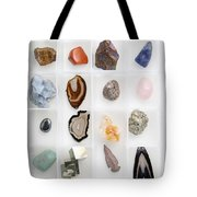 Rocks And Minerals Tote Bag
