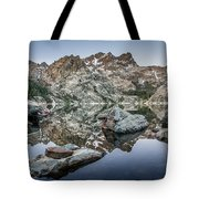 Rocks And Reflections Tote Bag