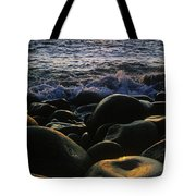 Rocks At The Coast, Giants Causeway Tote Bag