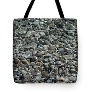 Rocks In Shallow Water Tote Bag