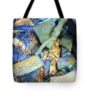 Rocks Of Gold Tote Bag