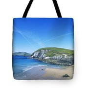 Rocks On The Beach, Coumeenoole Beach Tote Bag