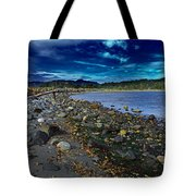 Rocky Beach In Western Canada Tote Bag