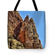 Rocky Cliff Tote Bag