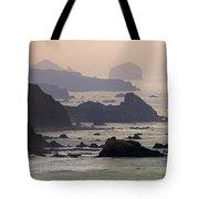Rocky Headlands On The Big Sur Coast Tote Bag