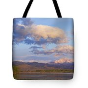 Rocky Mountain Early Morning View Tote Bag